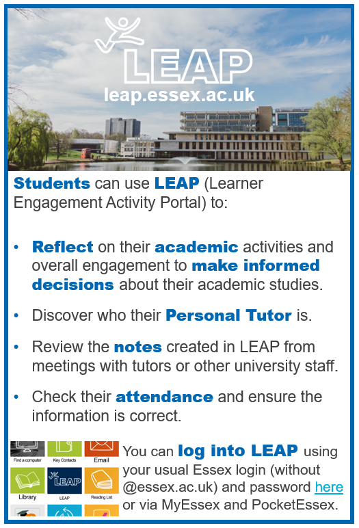Students can use LEAP.